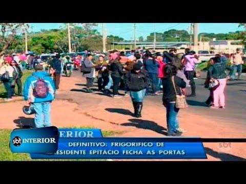 Frigorífico de Presidente Epitácio anuncia que vai fechar as portas