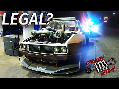 COPS LOVE the Twin Turbo LS DEATHWISH HILUX 👮 EP4