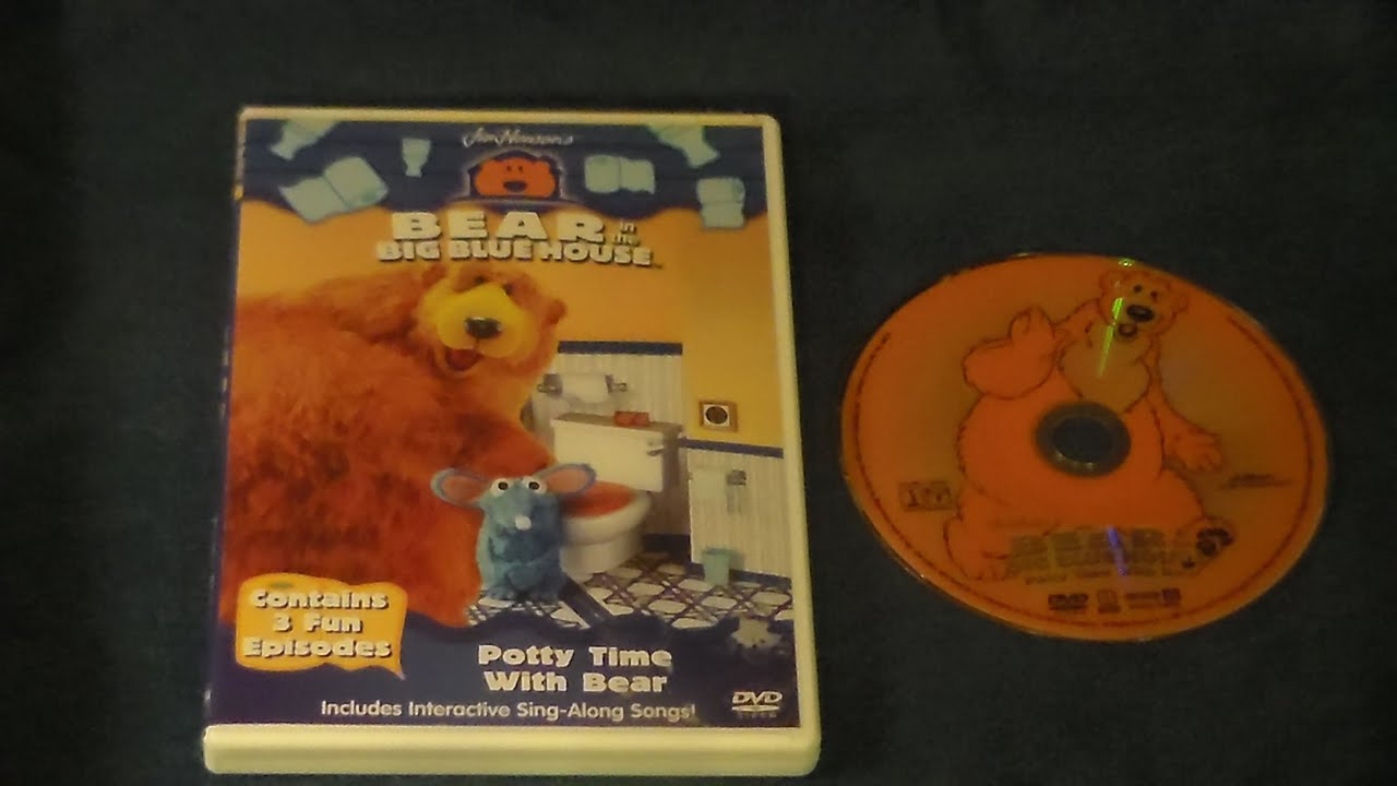 opening to bear in the big blue house: potty time with bear 2001