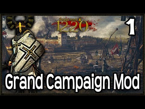 MEDIEVAL GRAND CAMPAIGN MOD! - Total War: Attila 1220 Mod Gameplay