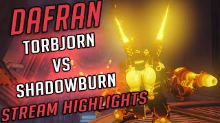 DAFRAN TORBJORN VS SHADOWBURN - Stream Highlights