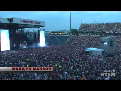 Marilyn Manson - Personal Jesus Rock On The Range 2015 (Pro Shot)
