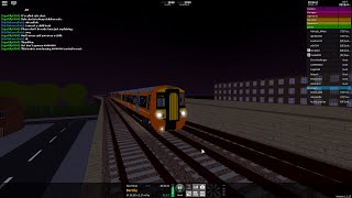 Roblox - Stepford County Railway - AirLink - Stepford Central to Airport Central (Class 387)