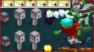 Майнкрафт напал на растение против зомби смотреть Minecraft Plants vs zombie От Фаника 6
