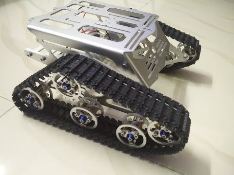 Spinel Crux - DIY Smart Tank Chassis Assembling