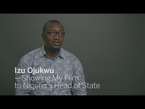 IZU OJUKWU Show My Film to Nigeria's Head of State   TIFF 2016