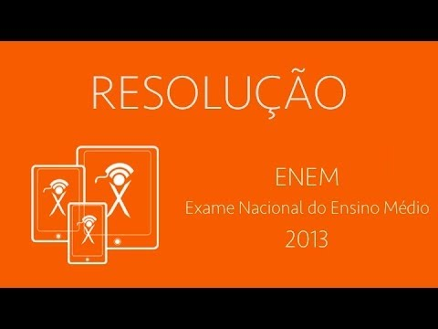 ENEM 2013 - Matemática - Q146 Travel Video