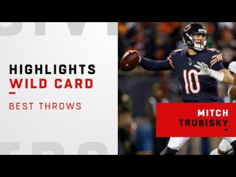 Mitch Trubisky's best throws from explosive fourth quarter