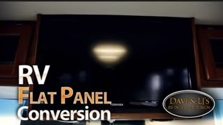 Rv Flatscreen Conversion And Remodel By Dave & Lj's