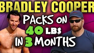 Bradley Cooper Gains 39 lbs of muscle in 12 weeks with no change in bodyfat?