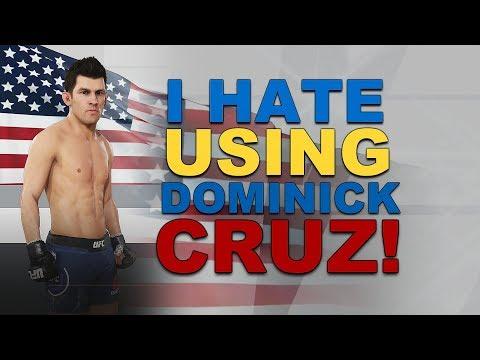 Why I Hate Using Dominick Cruz In EA Sports UFC 3!