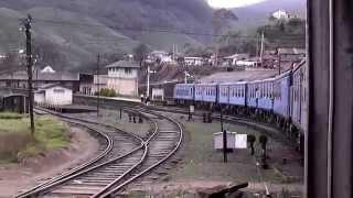 By train from Nanu Oya to Badulla Sri Lanka