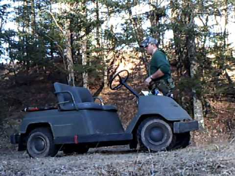 1985 Yamaha G1 Golf Cart - Used For Outdoor And Hunting Use, Watch.
