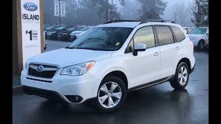 2015 Subaru Forester W/ Heated Seats, Backup Camera, AWD Review| Island Ford