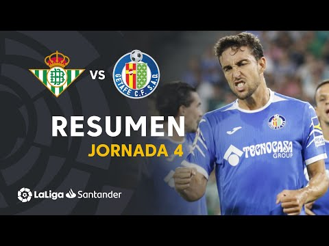 Resumen de Real Betis vs Getafe CF (1-1)