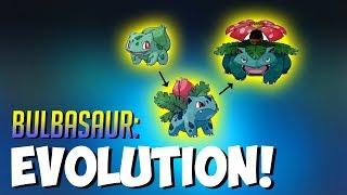 Evolving Bulbasaur To Ivysaur then to Venusaur HIGH CP Pokemon GO
