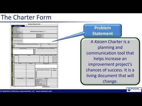 Kaizen Planning and Chartering