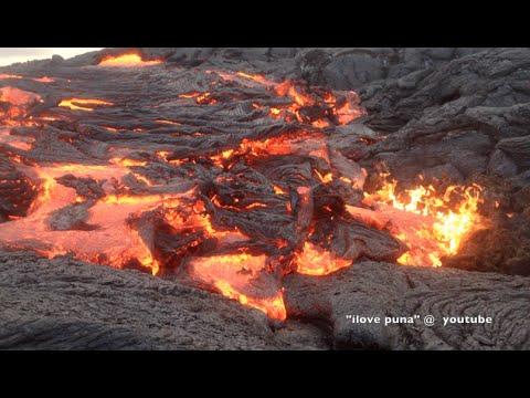 pu'u-o'o-lava-flow-recent-footage--may/2015-hawai'i-kilauea