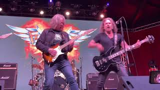 Winger w/ Andy Timmons - Helter Skelter -Live - Lava Cantina - The Colony TX – May 10, 2021