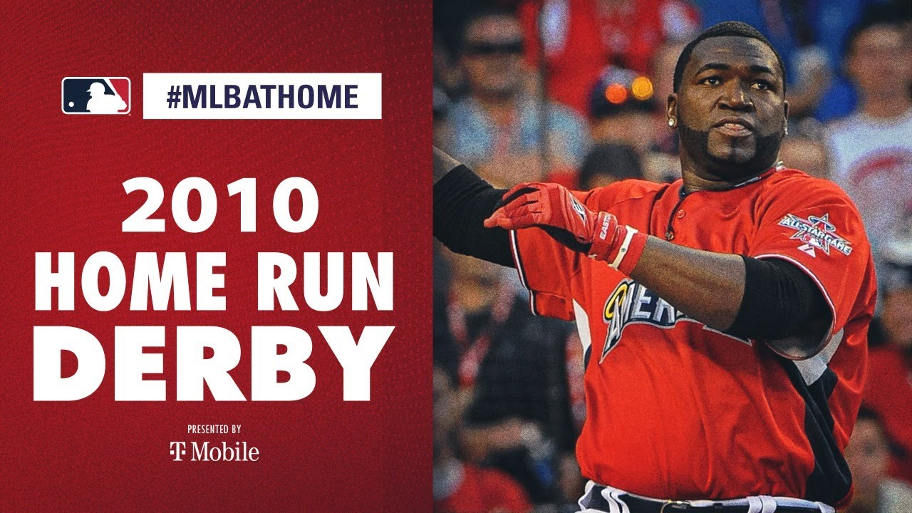 2010 Home Run Derby (Big Papi David Ortiz takes the trophy!) | #MLBAtHome