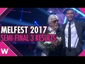 Melodifestivalen 2017: Robin Bengtsson and Owe Thörnqvist win Semi-Final 3 in Växjö