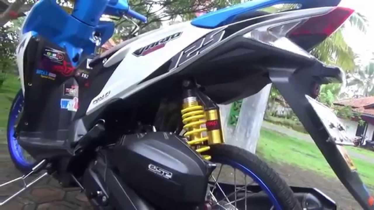 92 Modifikasi Motor Vario Techno 125 Pgm Fi Terbaru Kumbara Modif