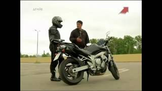 видео уроки езды на мотоцикле