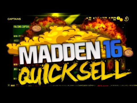 OMG LARGE QUICKSELL AND BADGE PACK OPENING | MADDEN 16 ULTIMATE TEAM