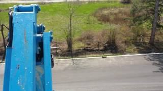 how is to be at 80ft above the ground in a boom lift