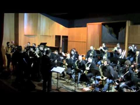 Bing Band & Vocal Ensemble del Conservatorio di Pescara-Finale Concerto di Natale 2013