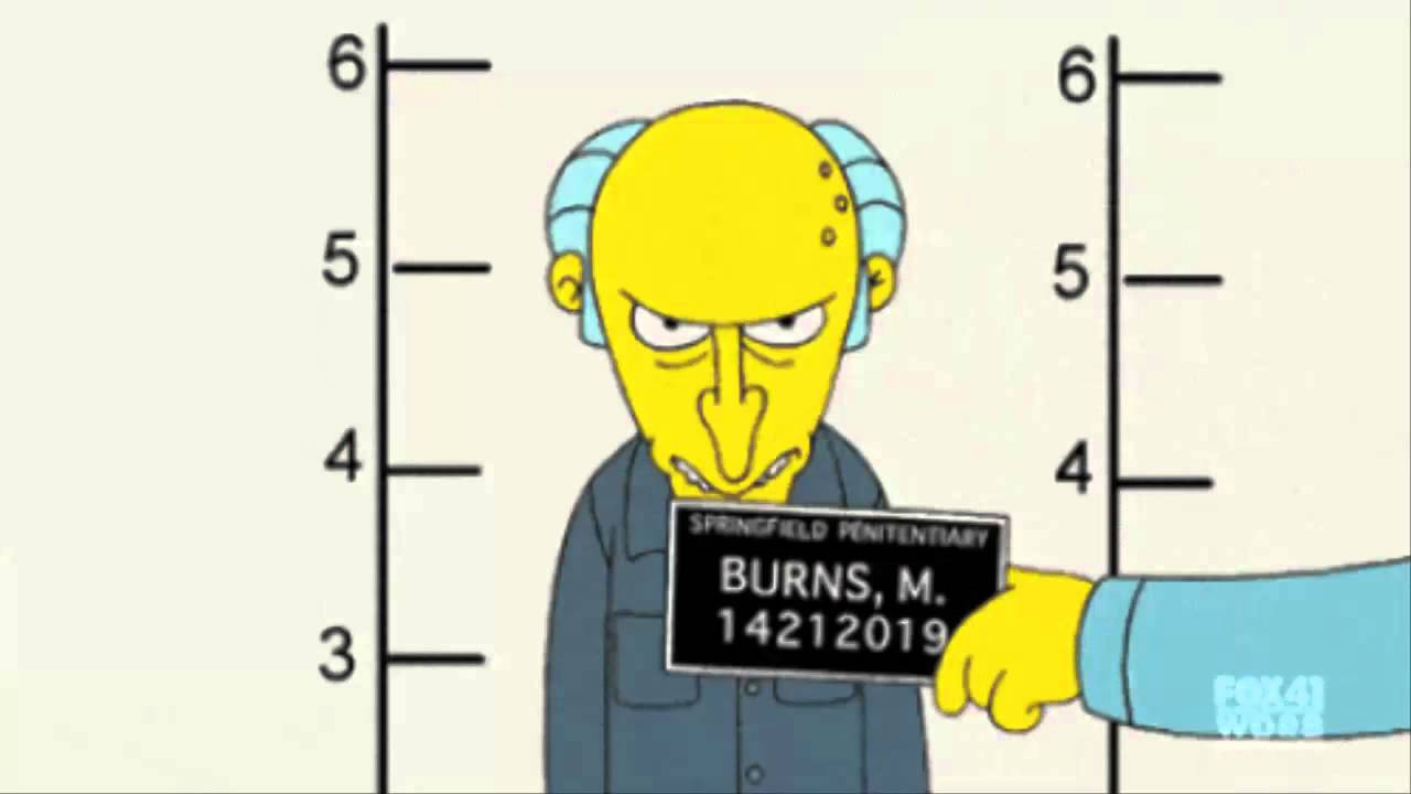 mr burns video: