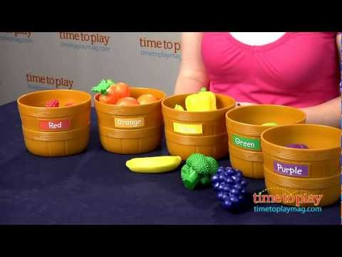 Farmers Market Color Sorting Set From Learning Resources