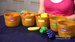 Farmer S Market Color Sorting Set From Learning Resources Youtube