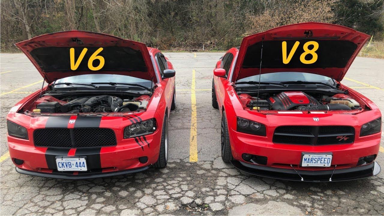 Dodge Charger EXHAUST   40 R/T Daytona Stock vs. 40 SXT Modded V40 vs.  V40 LOUD
