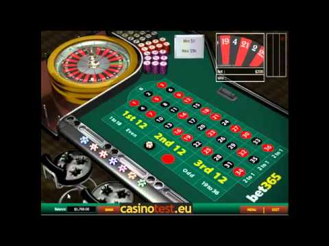 Bet365 roulette minimum bet theatre du casino biarritz