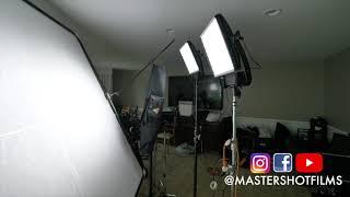 Green Screen Interview Lighting