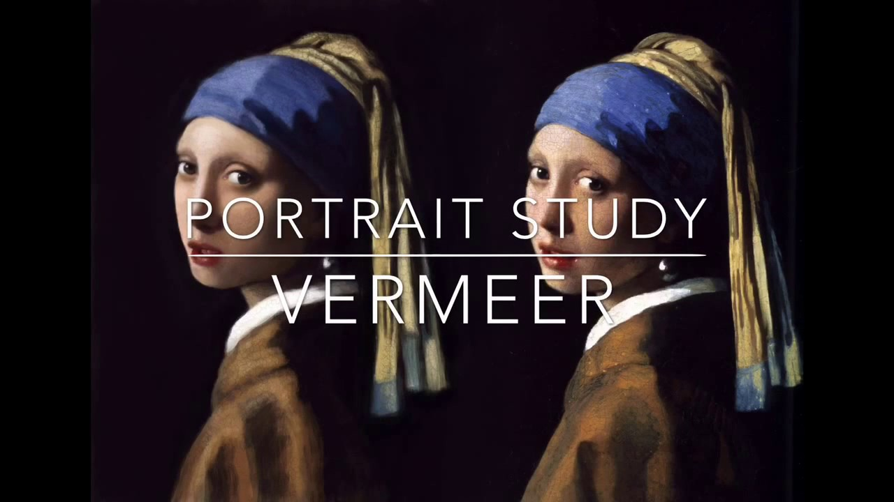 Ipad Oil Painting Study  Vermeer, Girl With A Pearl Earring