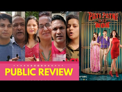 Pati Patni Aur Woh Movie PUBLIC REVIEW | First Day First Show | Kartik Aaryan, Ananya Panday, Bhumi