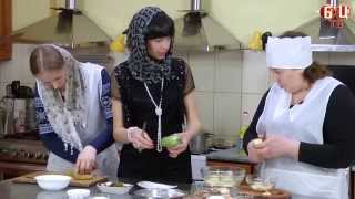 """Постные блюда - это вкусно! Виктория Кармазин в передаче """"Кулинарная империя"""""""