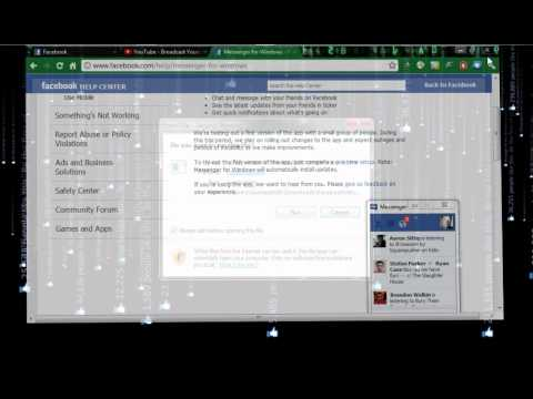 how to delete facebook messenger from windows 7