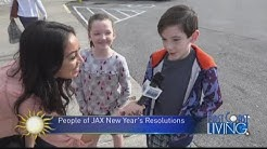 People in Jacksonville Share Their New Year's Resolution (FCL January 4th)