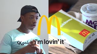 Eating Your Colleague's Lunch : McDonald's Big Tasty Foldover - Skits By Sphe