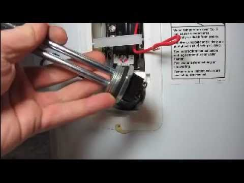 hot water heater thermostat wiring diagram subwoofer 6 subs element installation ez youtube