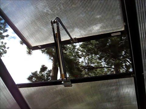 Greenhouse Coldframe Window Opener