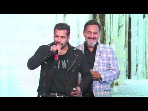 Salman Khan's Surprise Entry Speaking Marathi At Mahesh Manjrekar's Music Album Rubik's Cube Launch