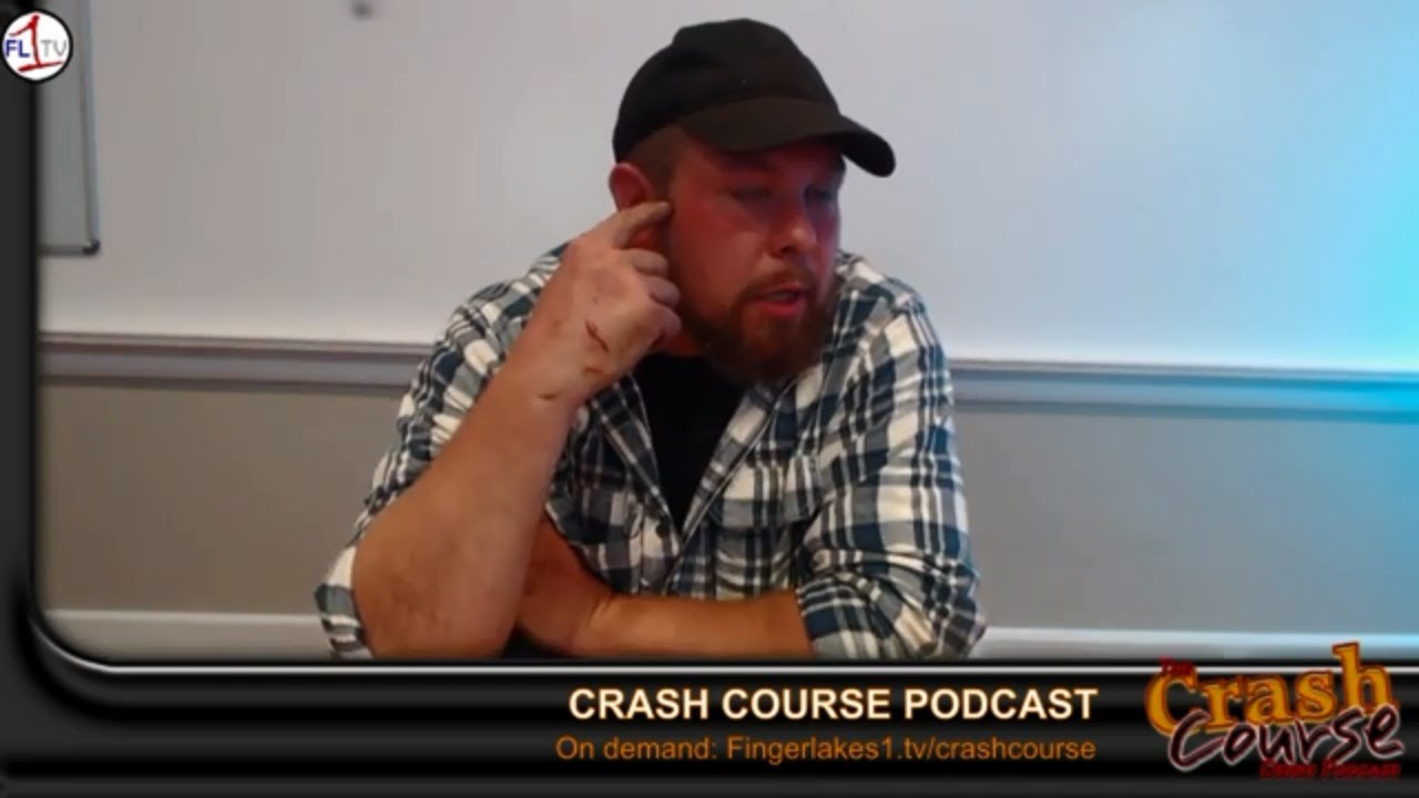 Josh Wilkins, Johnny Gullo, Chaos & Paradise .::.. Crash Course Podcast #247
