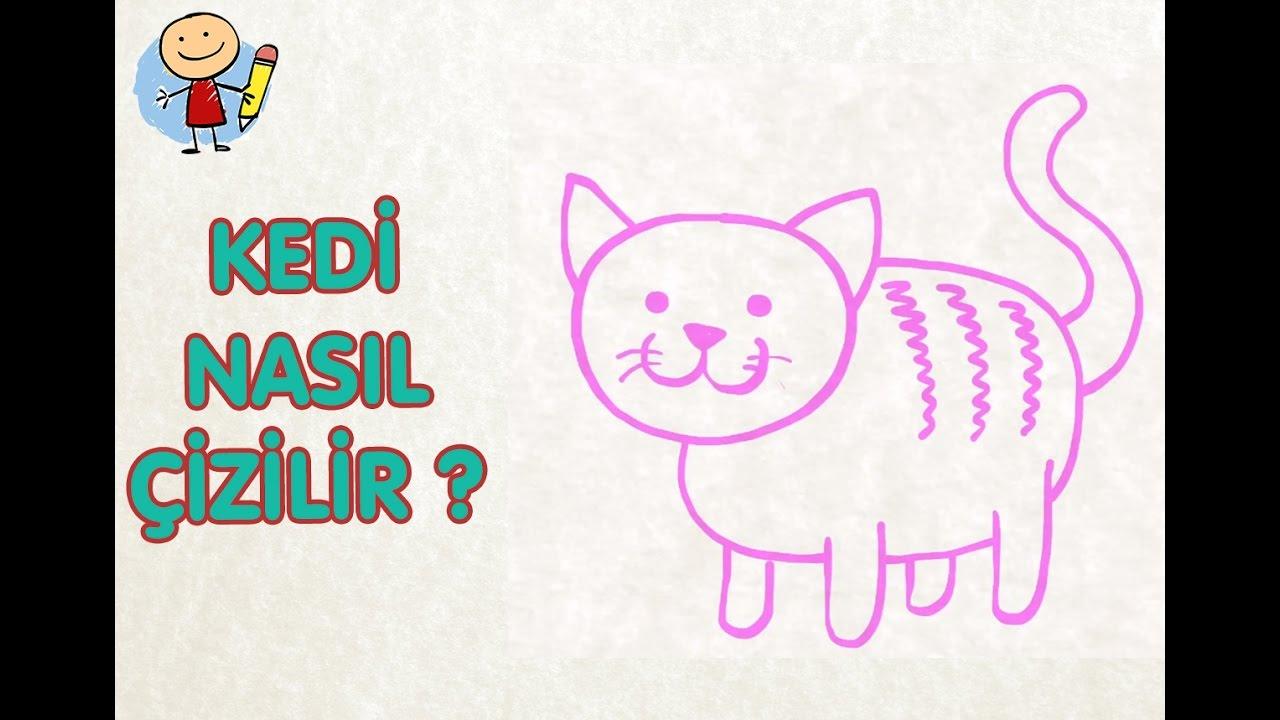 çocuklar Için Kedi çizimi çocuk Için Resim çizmek Resim Nasıl