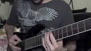 Meshuggah - Combustion Guitar Cover