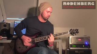 Rodenberg Montgelas Power Amp feat. Axe FX doing Mike Einziger Style