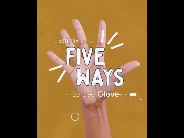 5 Ways   Clove